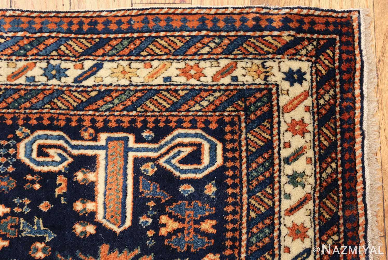 antique perpedil caucasian shirvan rug 47603 corner Nazmiyal