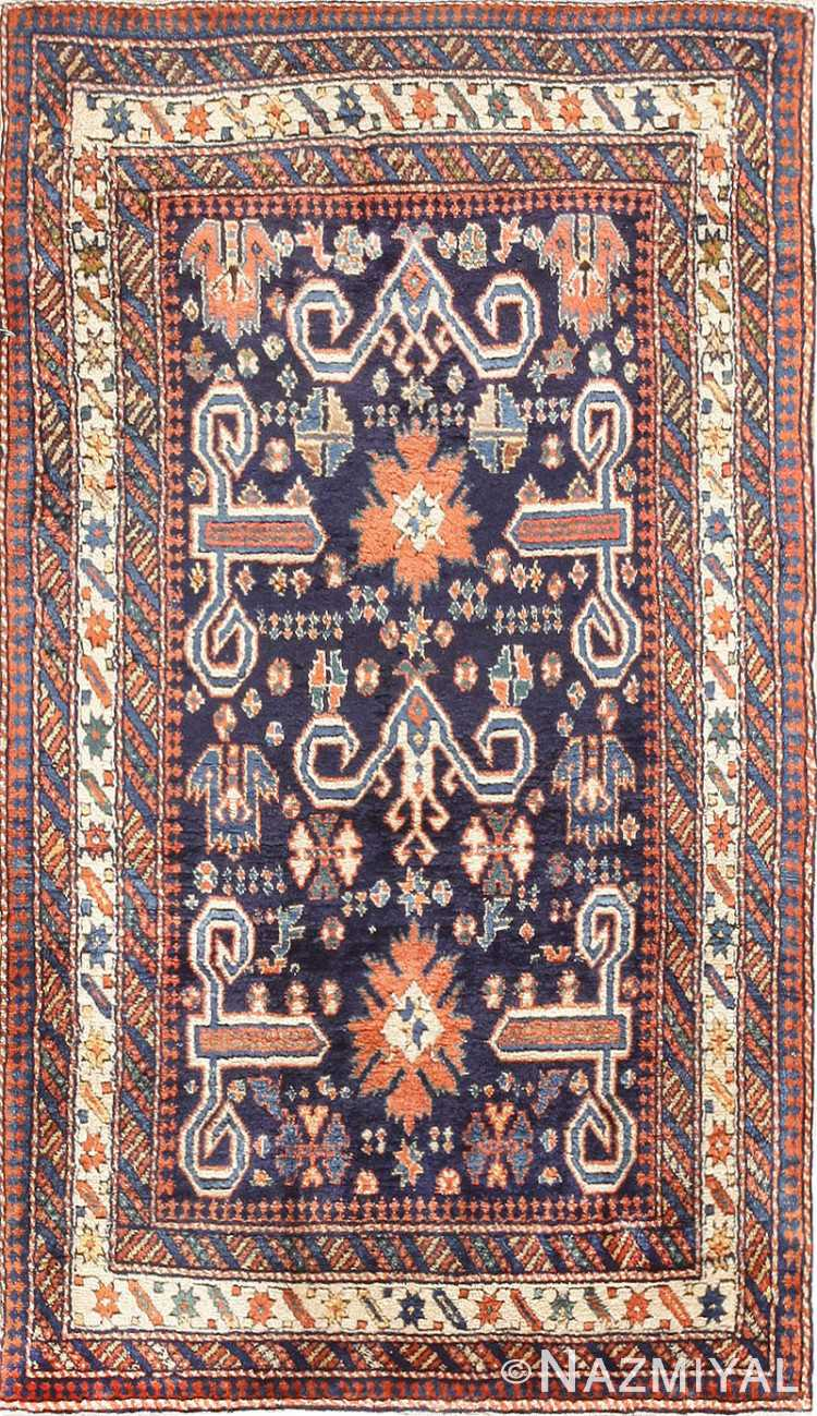 Antique Perpedil Caucasian Shirvan Rug 47603 Nazmiyal