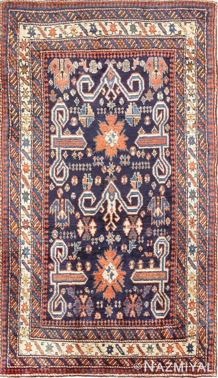 Antique Perpedil Caucasian Shirvan Rug 47603 Nazmiyal