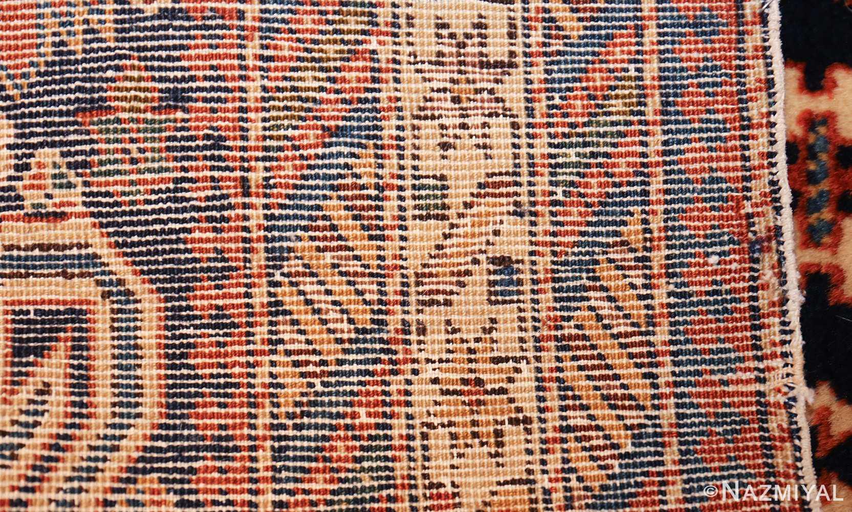 antique perpedil caucasian shirvan rug 47603 weave Nazmiyal