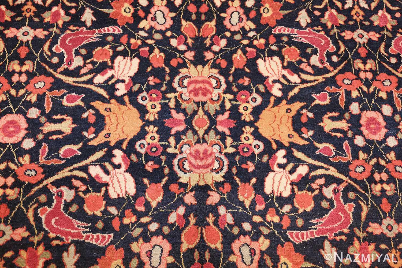 antique persian khorassan animal motif rug 47605 design Nazmiyal