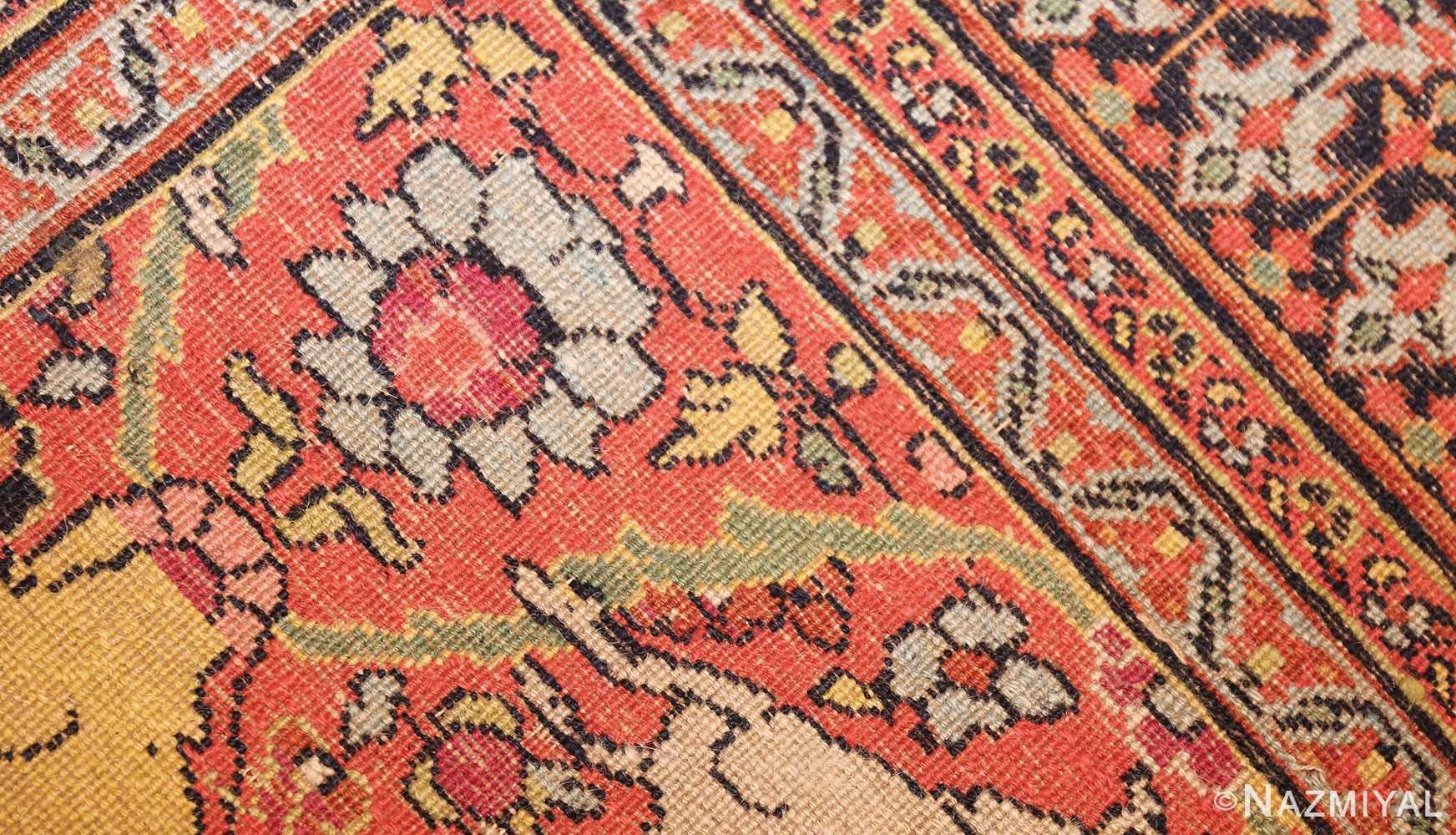 antique persian khorassan animal motif rug 47605 weave Nazmiyal
