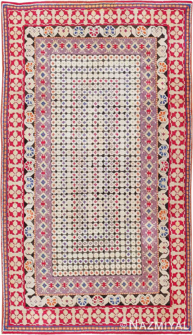 Antique Ukrainian Rug 47654 Detail/Large View