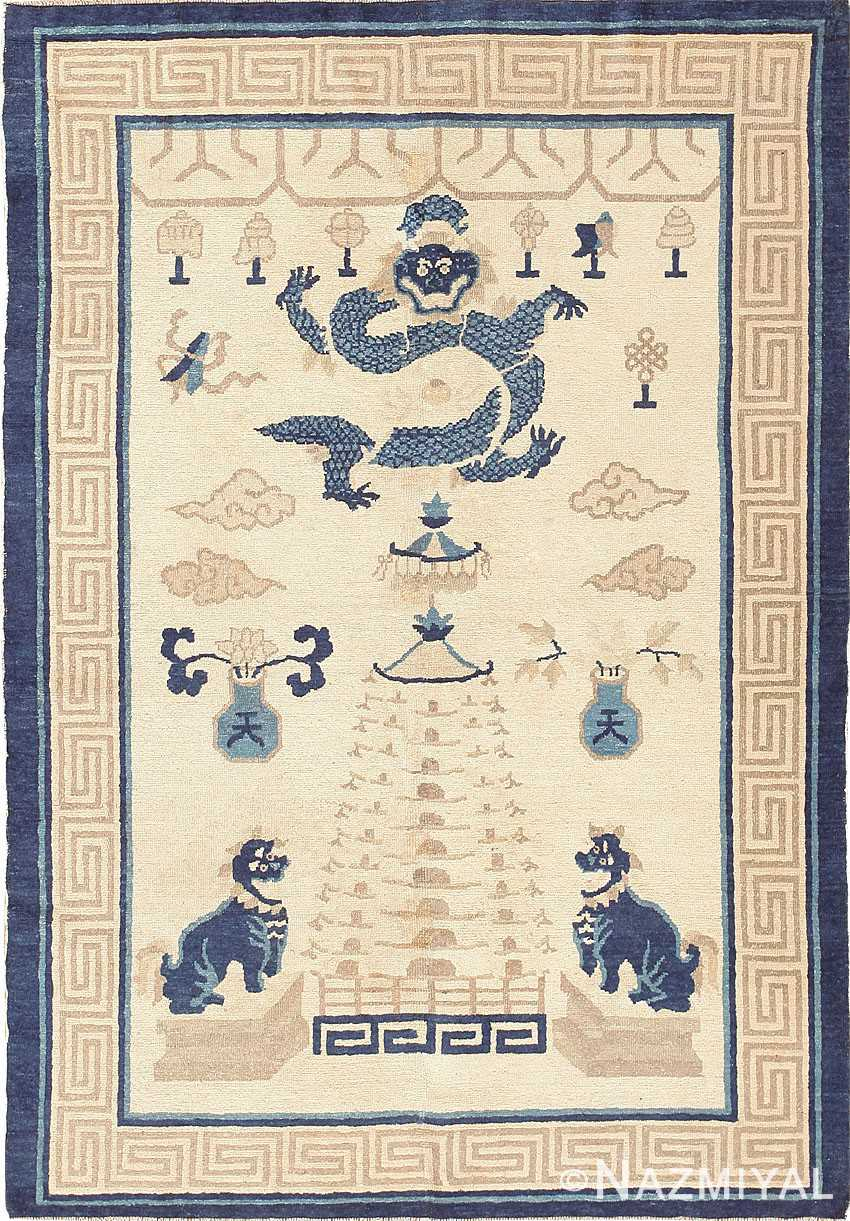 Beautiful Antique Chinese Rug 47472 Nazmiyal