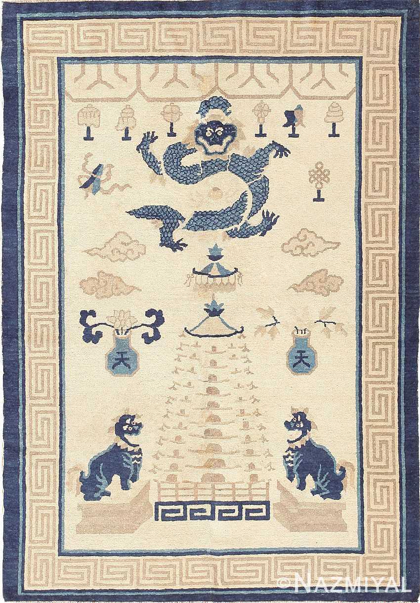 Beautiful Antique Chinese Rug 47472 Nazmiyal