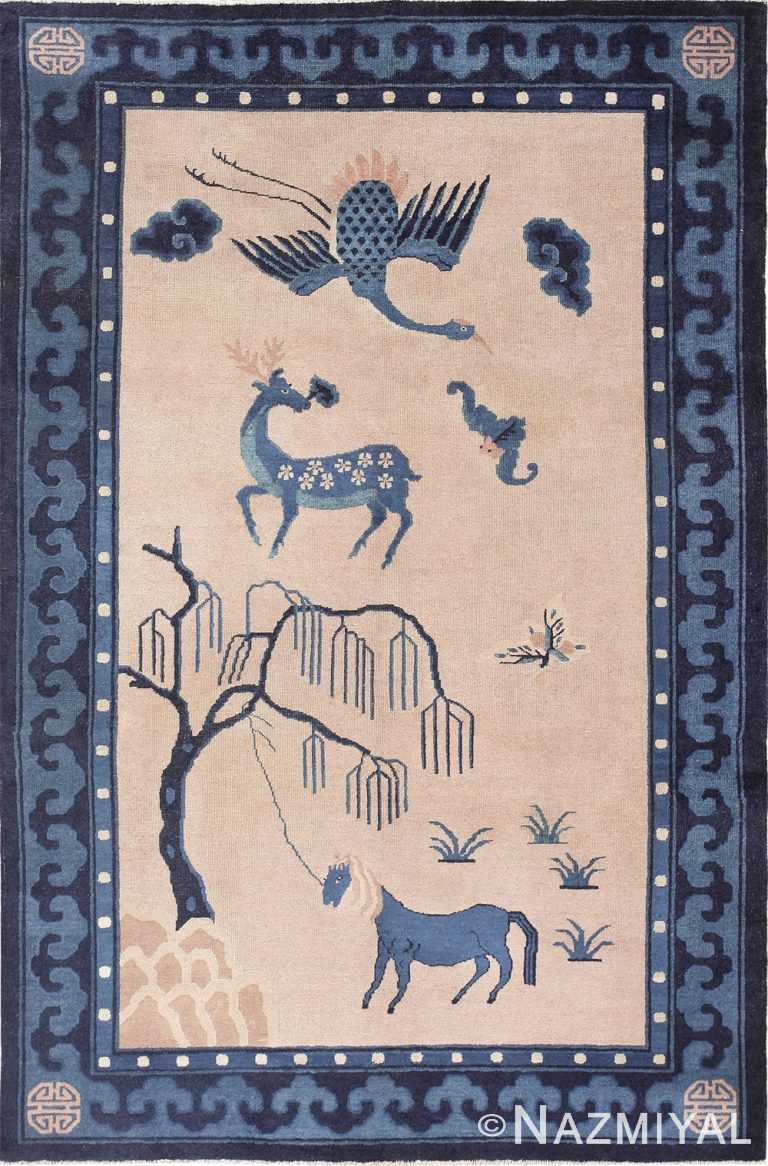 Beautiful Antique Chinese Rug 47558 by Nazmiyal