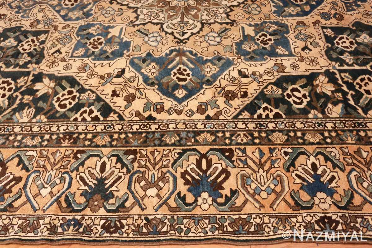 Border Antique Decorative Persian Bakhtiari carpet 46840 by Nazmiyal
