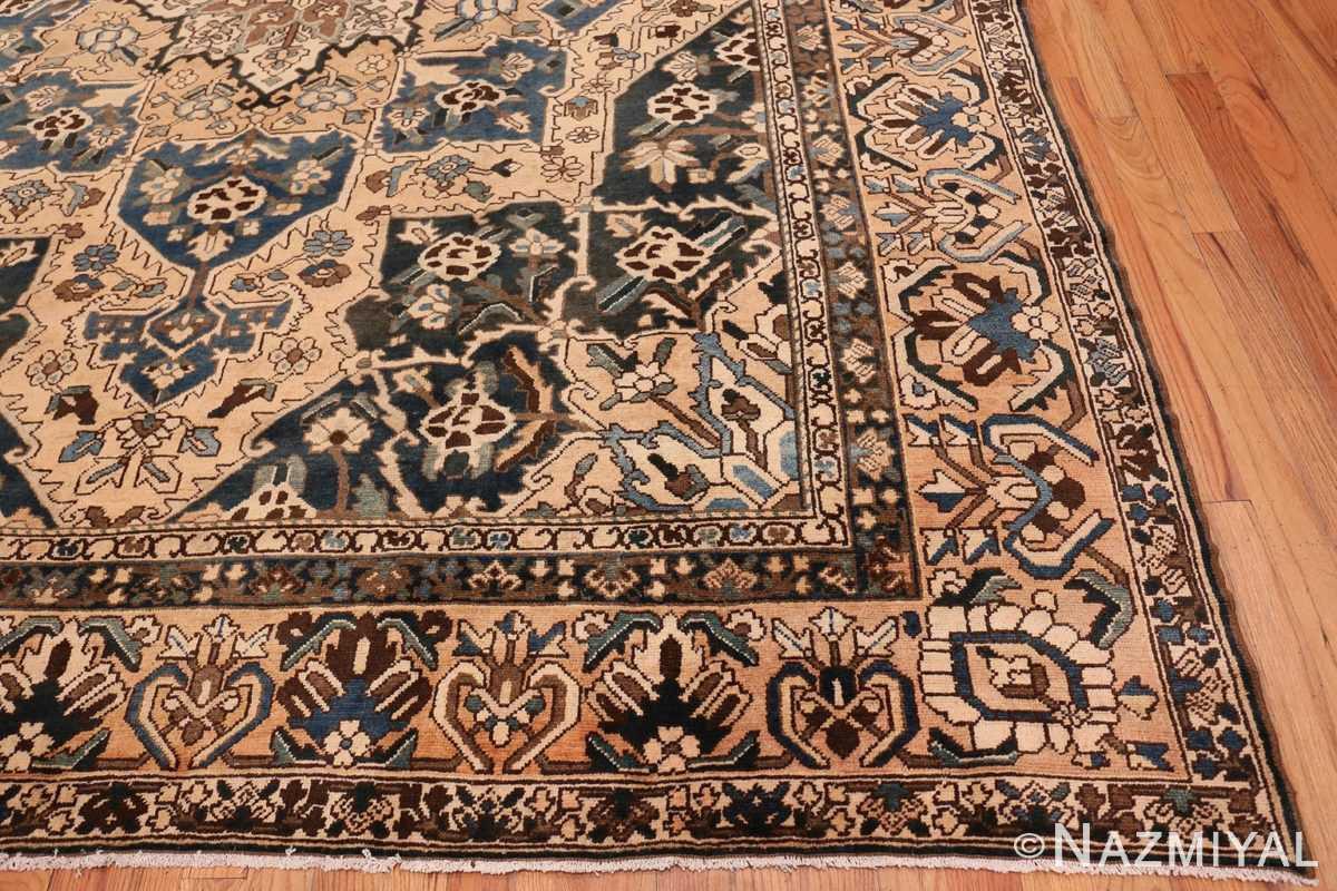 Corner Antique Decorative Persian Bakhtiari carpet 46840 by Nazmiyal