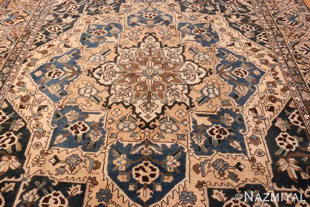 Field Antique Decorative Persian Bakhtiari carpet 46840 by Nazmiyal
