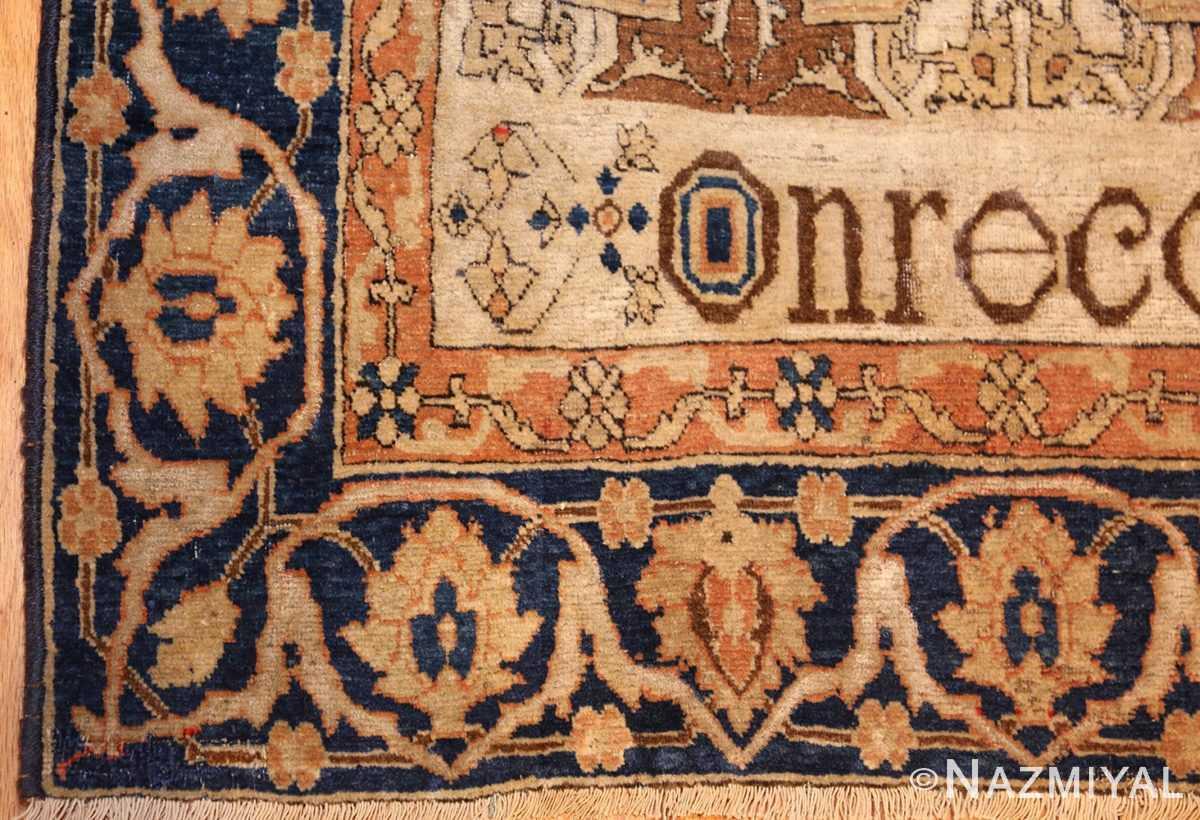 fine antique persian mohtashem kashan rug 47483 corner Nazmiyal
