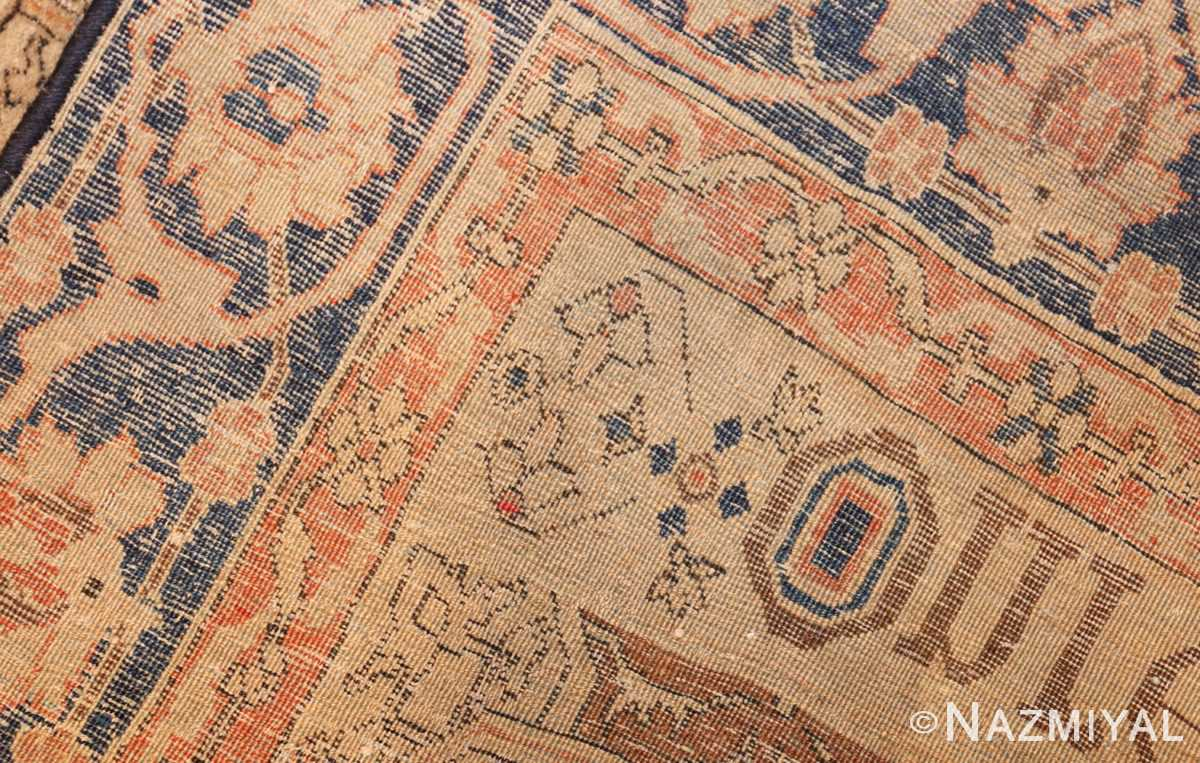 fine antique persian mohtashem kashan rug 47483 weave Nazmiyal