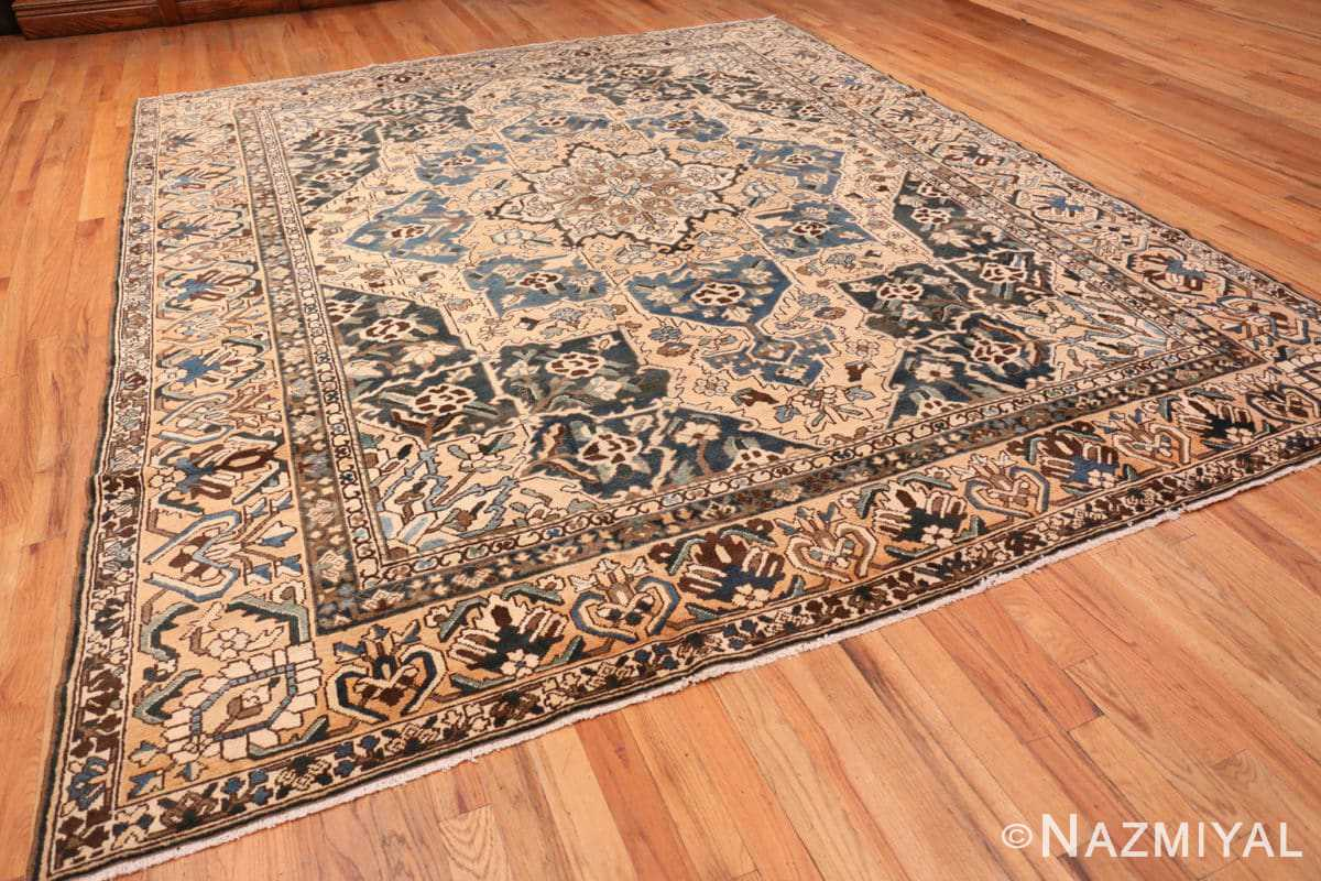 Full Antique Decorative Persian Bakhtiari carpet 46840 by Nazmiyal