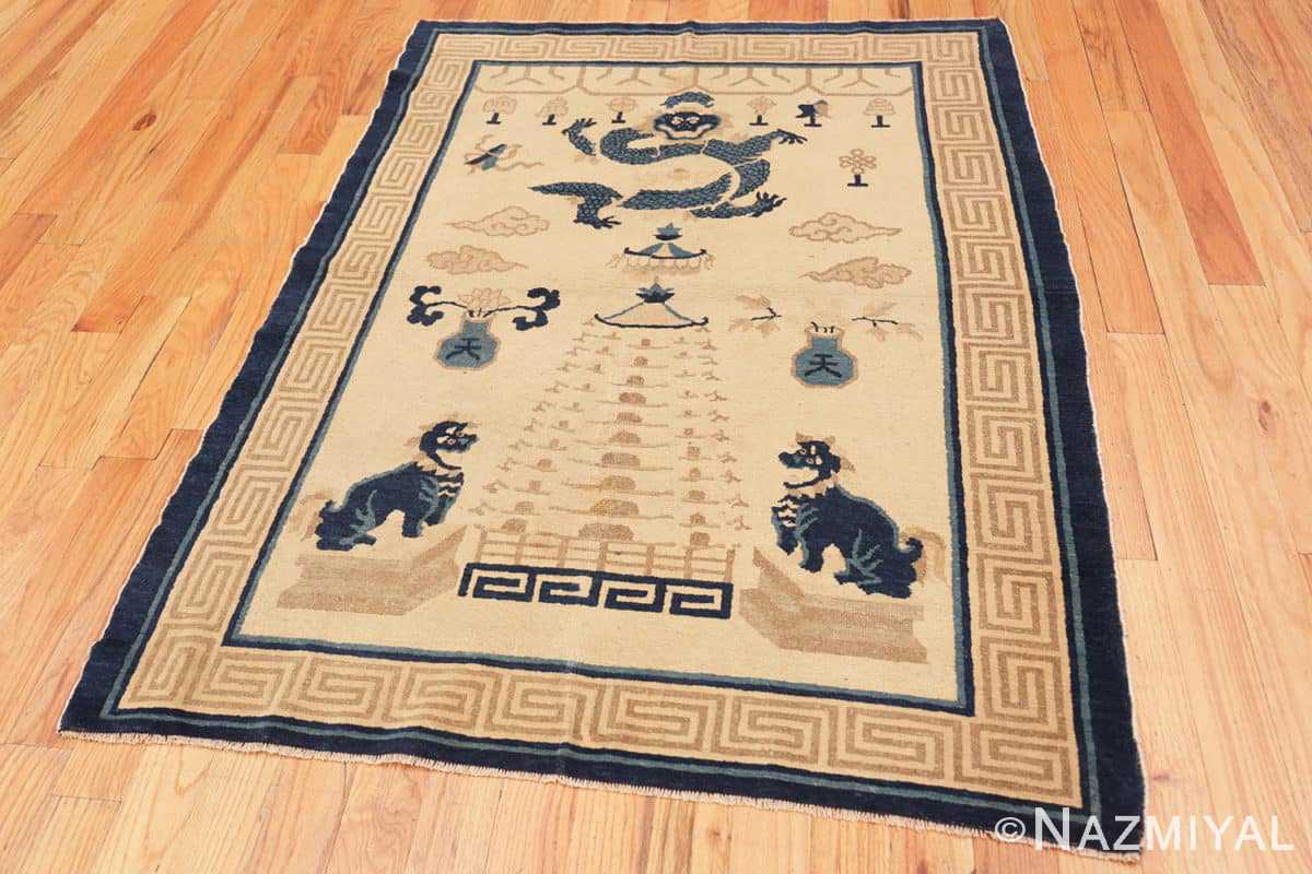 Full Beautiful Antique Dragon Chinese rug 47472 by Nazmiyal