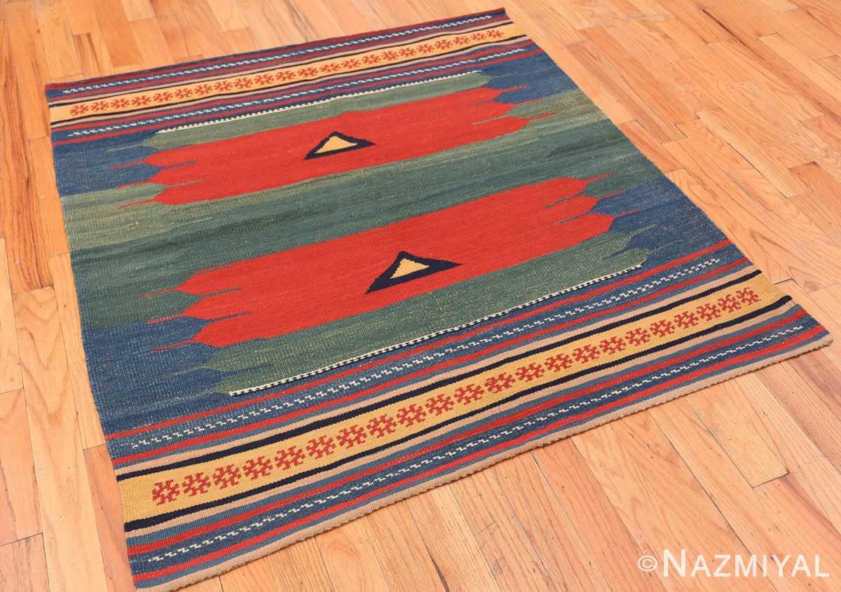 Full Vintage Persian Gashgai tribal rug 47620 by Nazmiyal