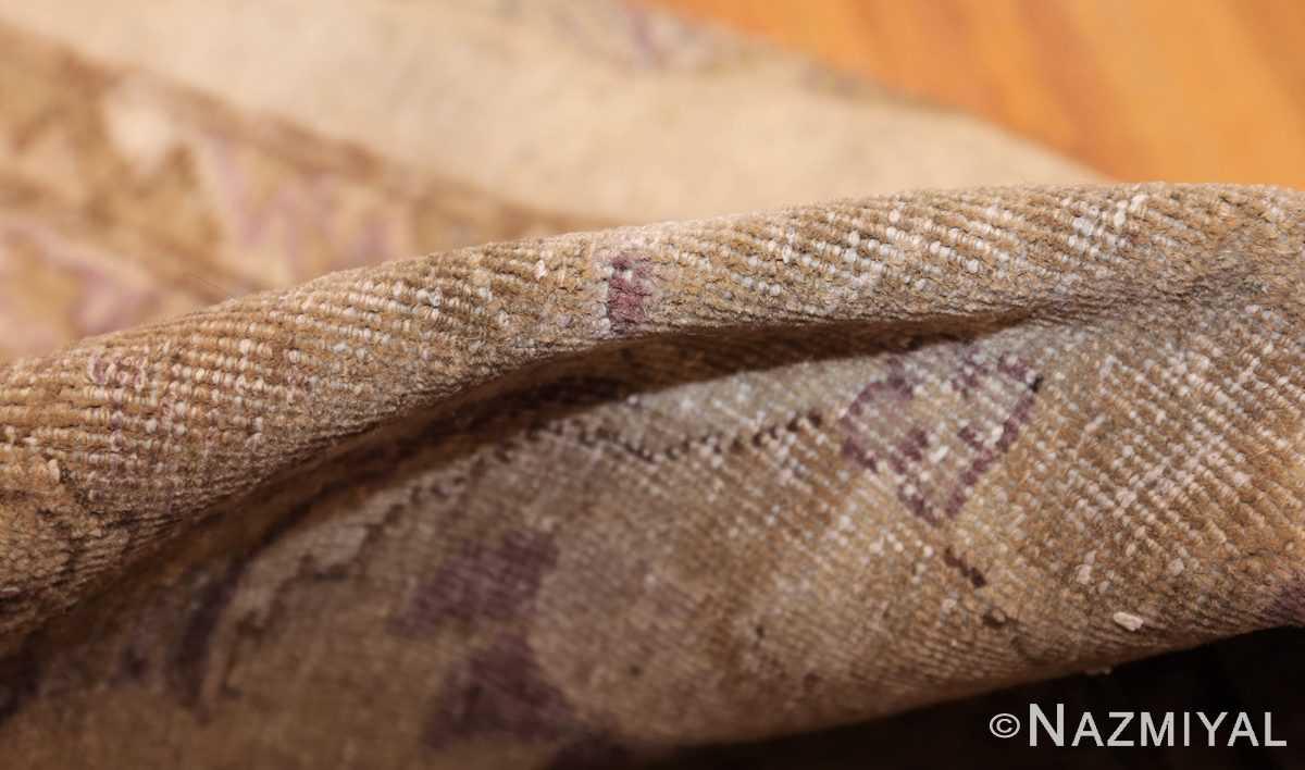 ivory background antique indian amritsar rug 47438 pile Nazmiyal