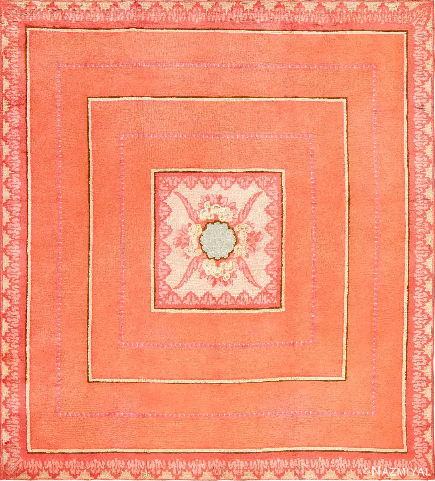 Jacques Emile Ruhlmann French Art Deco Carpet 47642 Nazmiyal