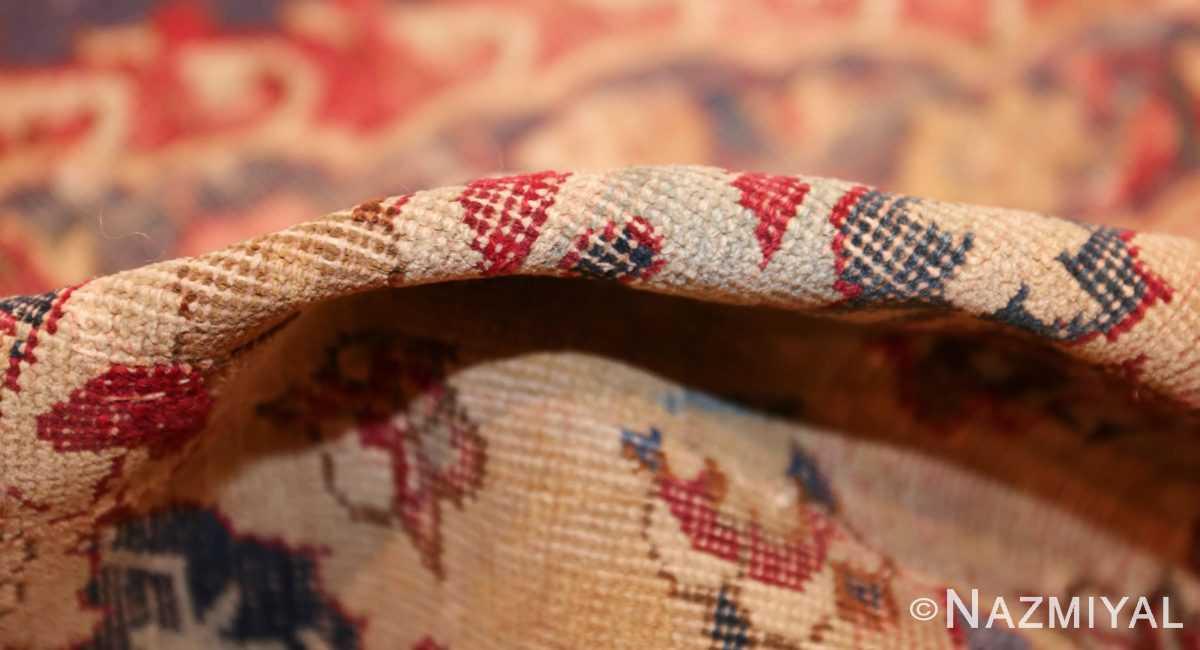 large antique 17th century mughal gallery carpet 47597 pile Nazmiyal