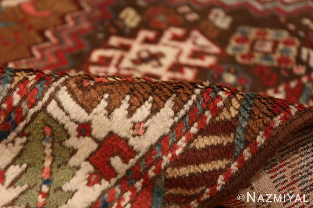 Pile Tribal Antique Caucasian Kazak runner rug 47653 by Nazmiyal
