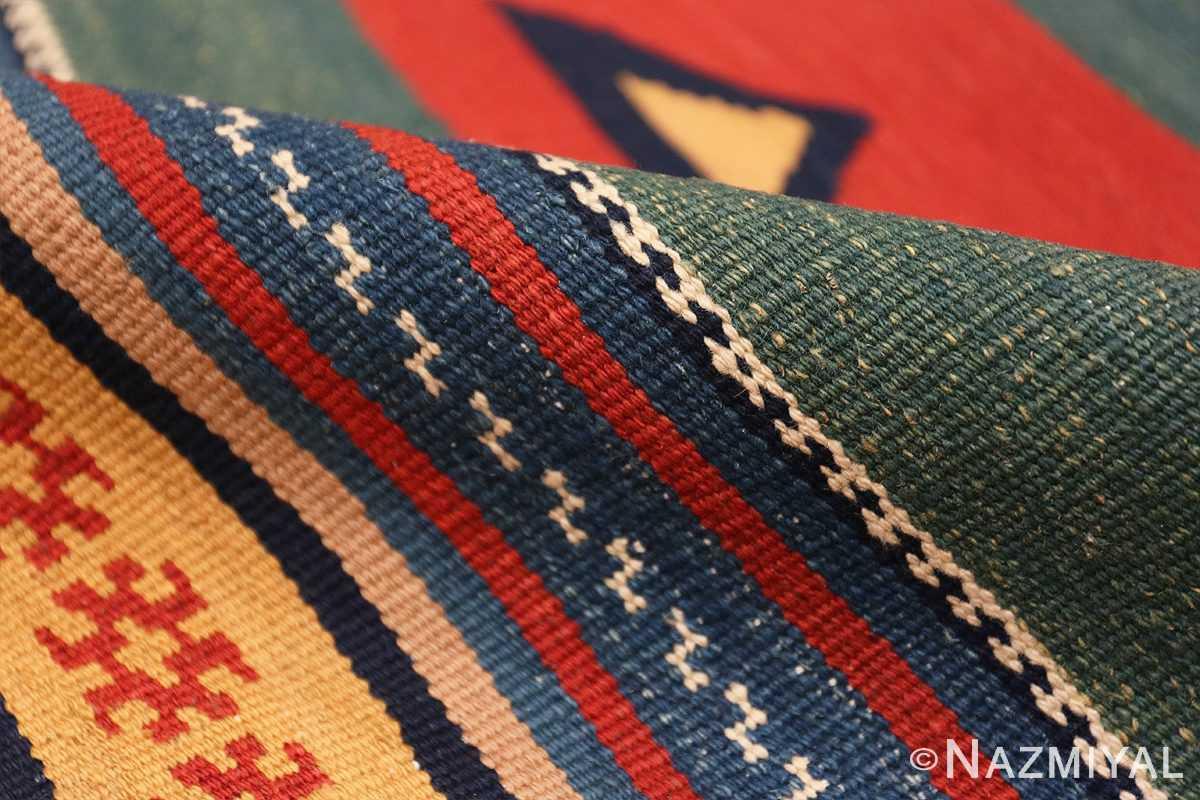 Pile Vintage Persian Gashgai tribal rug 47620 by Nazmiyal
