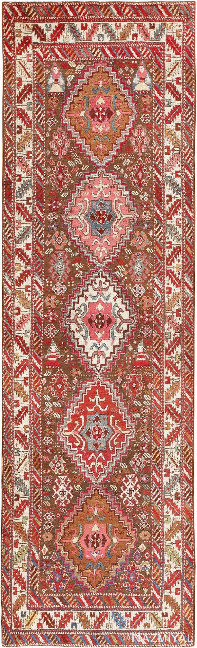 Rare Antique Caucasian Shirvan Runner 47653 Nazmiyal
