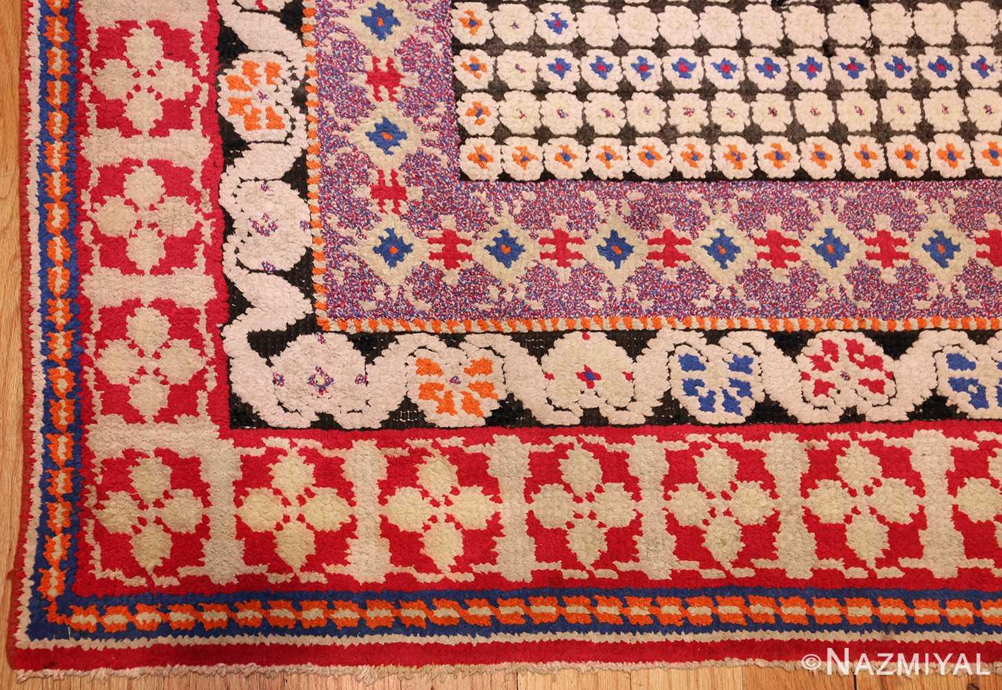 rare antique ukrainian rug 47654 corner Nazmiyal