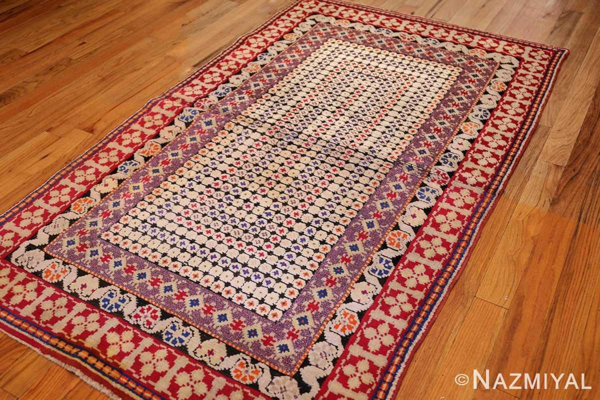 rare antique ukrainian rug 47654 side Nazmiyal