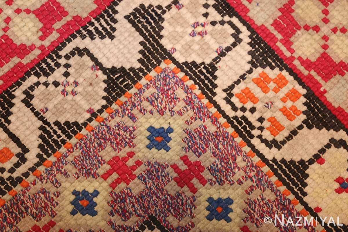 rare antique ukrainian rug 47654 weave Nazmiyal