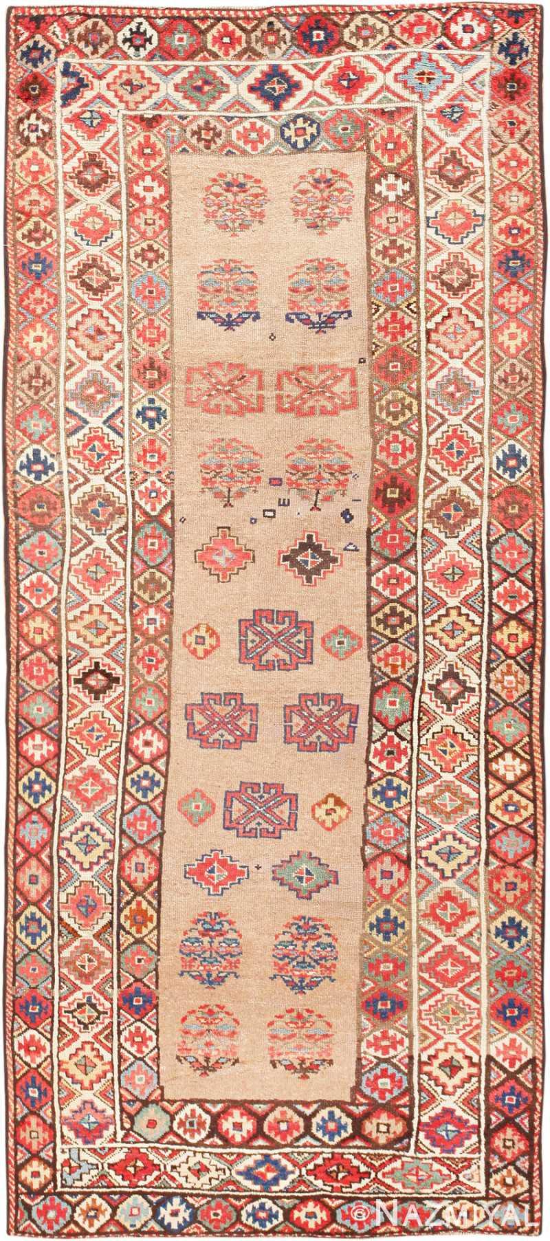 Tribal Caucasian Kazak Rug 47659 Detail/Large View
