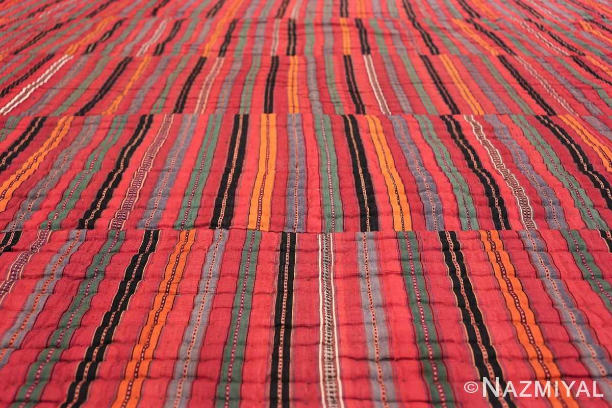 vintage persian qashqai Kilim 47623 lines Nazmiyal