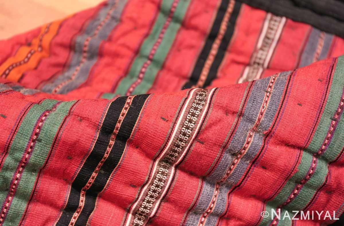 vintage persian qashqai Kilim 47623 pile Nazmiyal