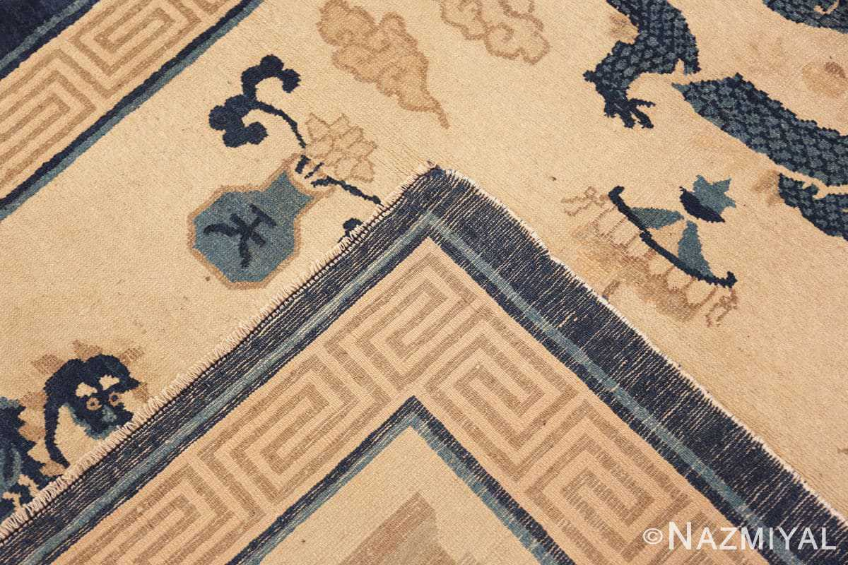 Weave Beautiful Antique Dragon Chinese rug 47472 by Nazmiyal