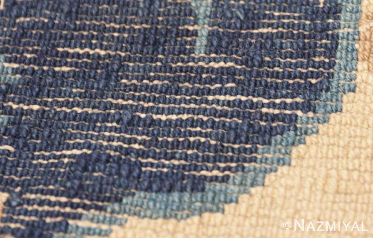 Weave detail Beautiful Antique Dragon Chinese rug 47472 by Nazmiyal
