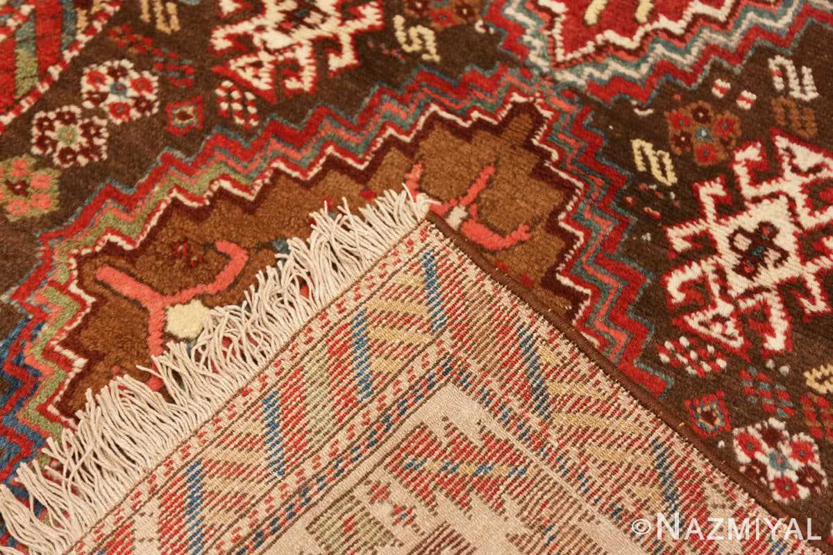 Weave Tribal Antique Caucasian Kazak runner rug 47653 by Nazmiyal