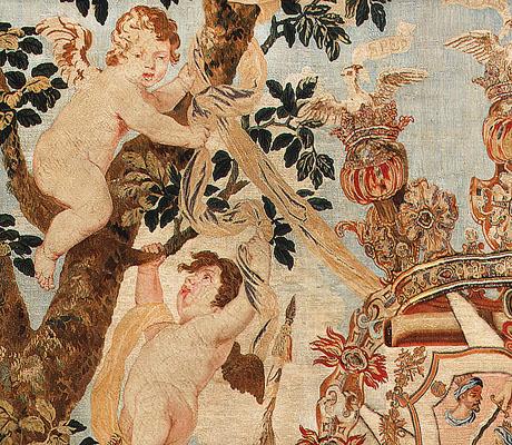Antique 17th Century Flemish Tapestry 2399 nazmiyal