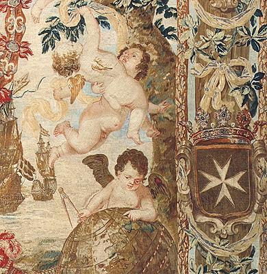 Seventeenth Century Tapestry Rug 2399 nazmiyal