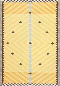 Vintage Scandinavian Rug By Artist Ingrid Dessau 47664 Nazmiyal