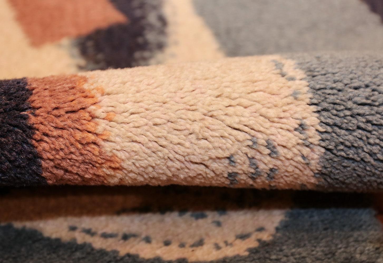 vintage scandinavian rug by rené magritte 47671 pile Nazmiyal