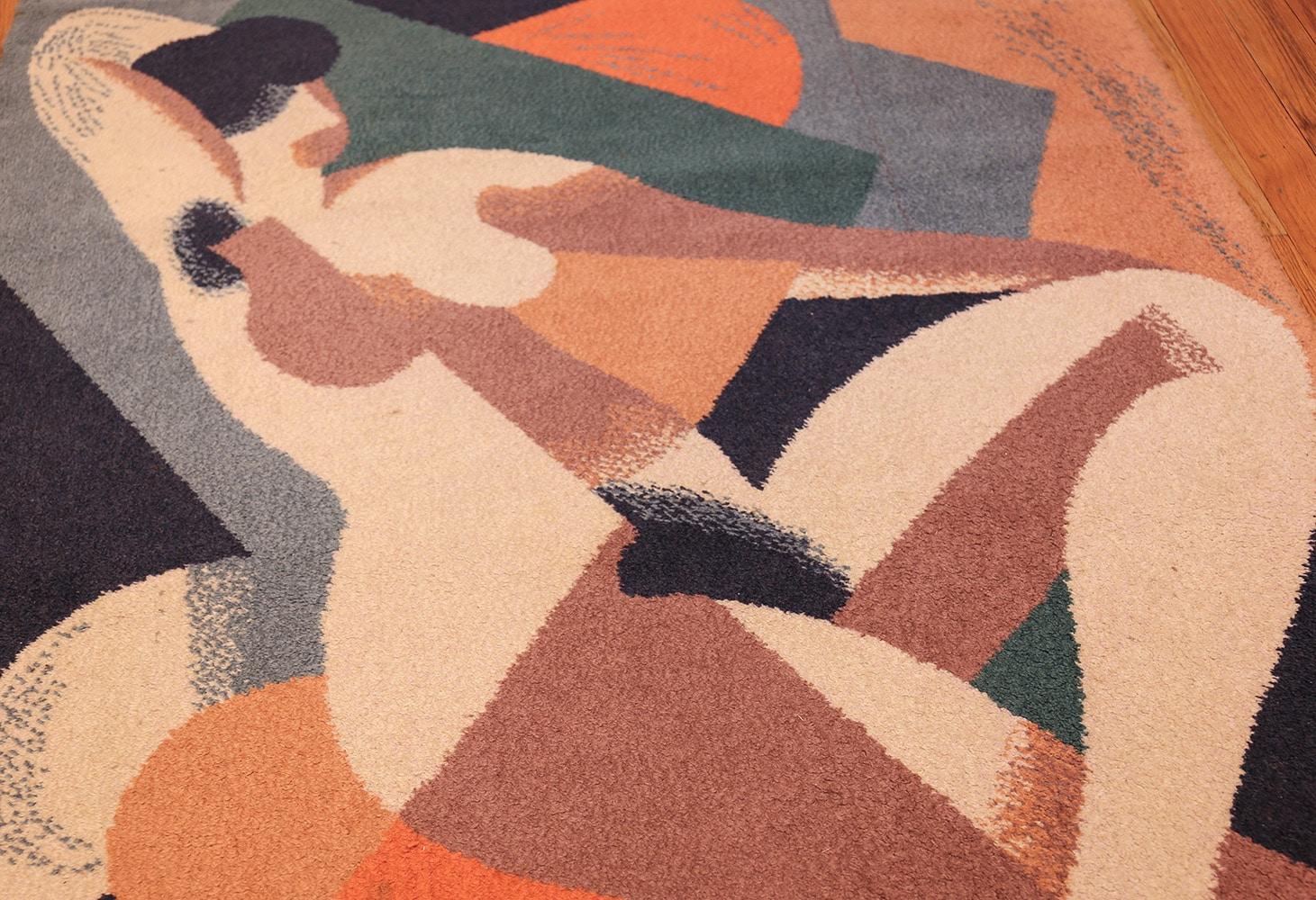 vintage scandinavian rug by rené magritte 47671 sleeping Nazmiyal