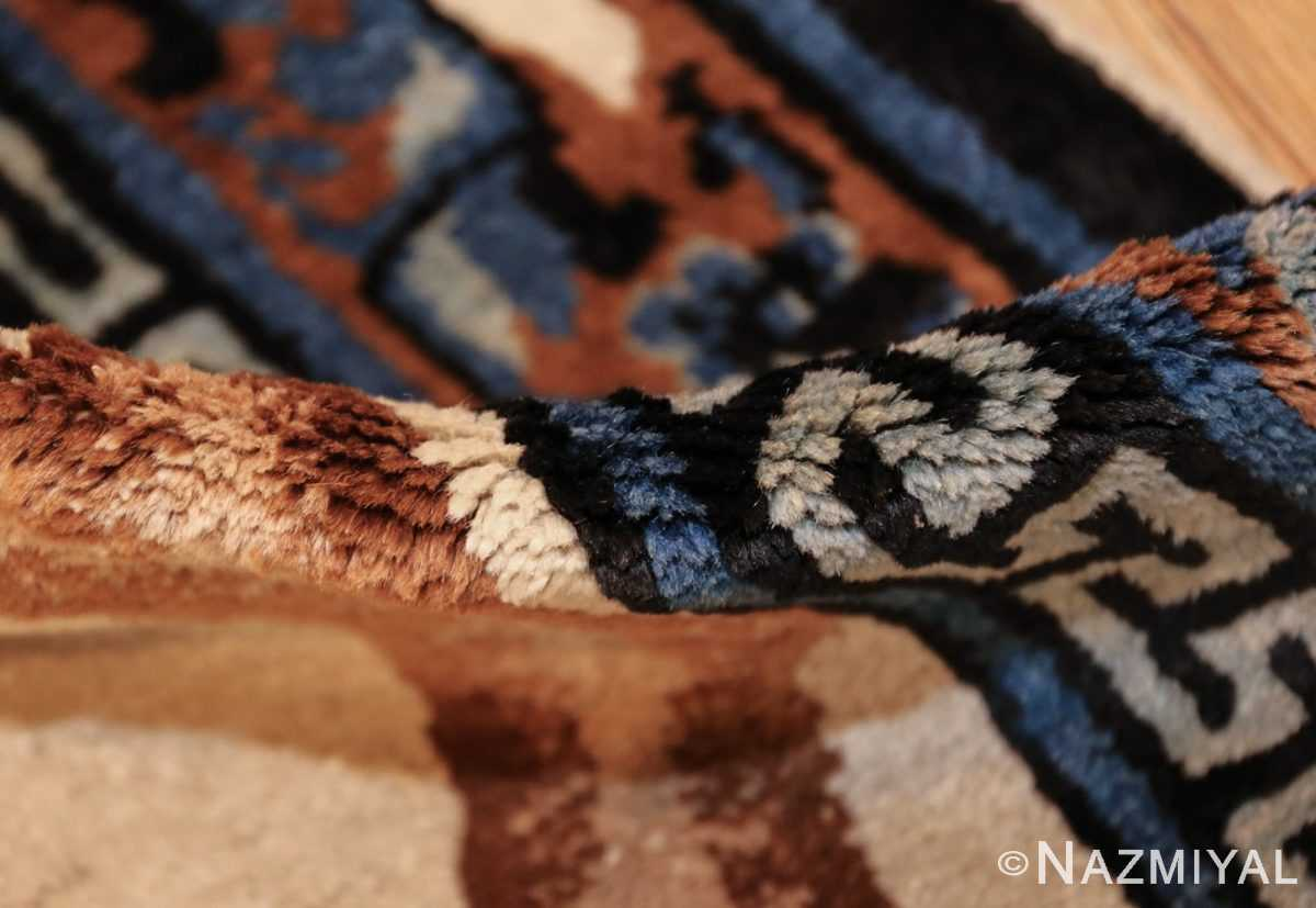 beautiful scenic antique chinese rug 47677 pile Nazmiyal
