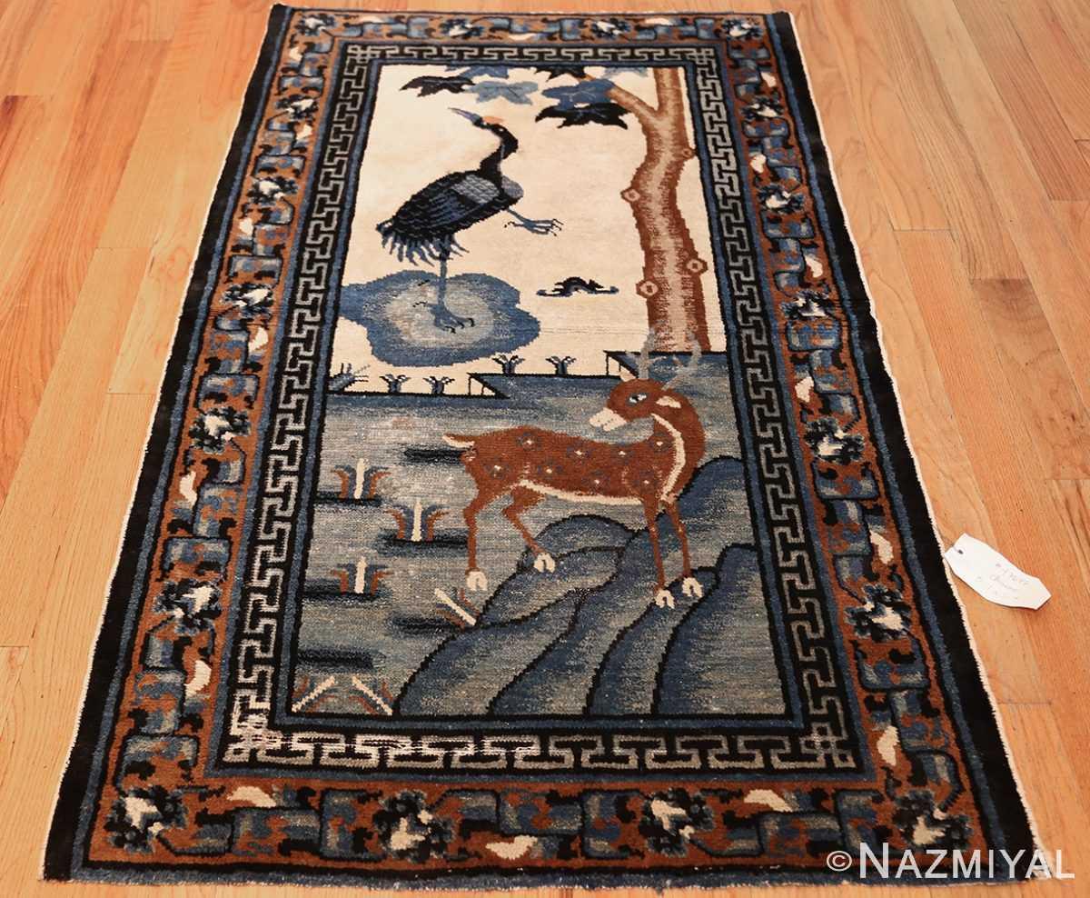 beautiful scenic antique chinese rug 47677 whole Nazmiyal