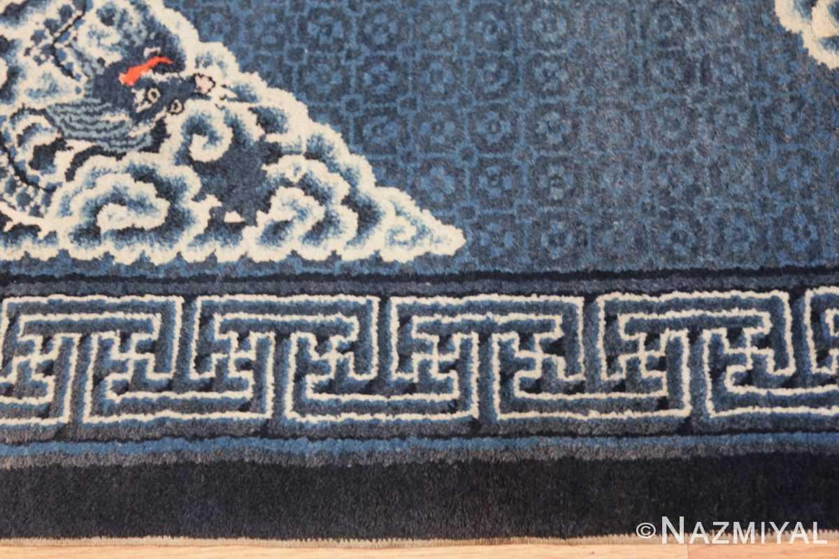 Border Antique Dragon Chinese rug 47762 by Nazmiyal