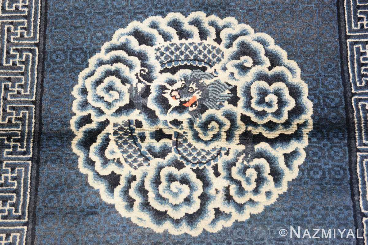 Field Antique Dragon Chinese rug 47762 by Nazmiyal