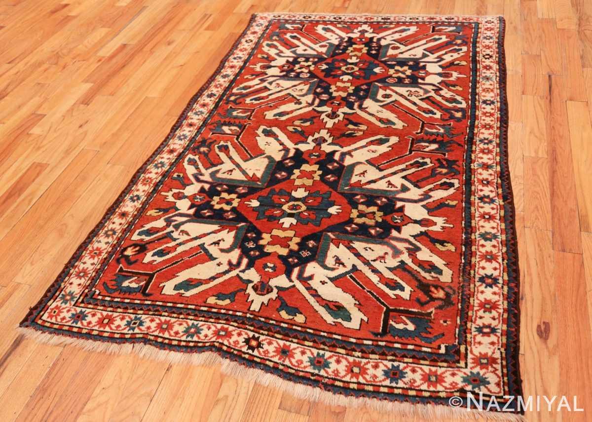 Full Antique Eagle Kazak rug 47608 by Nazmiyal