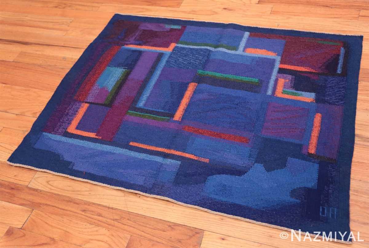 Full Vintage Norwegian tapestry rug designed by Eevahenna Aalto 47673 by Nazmiyal