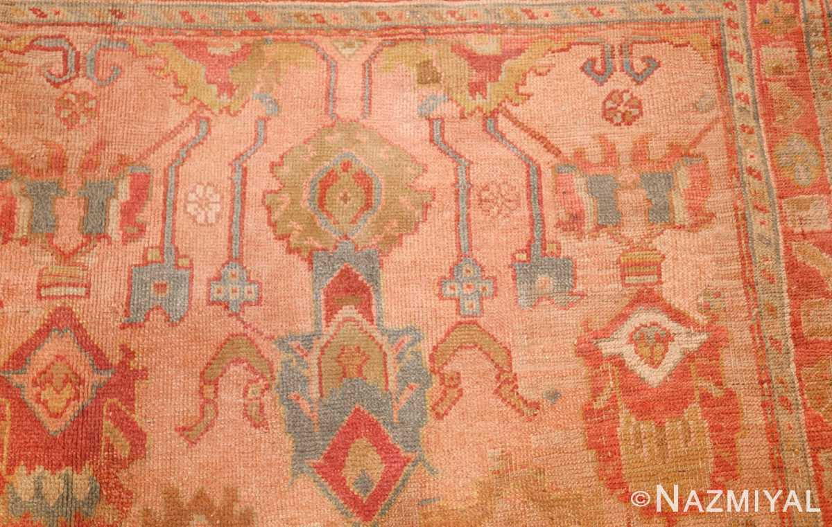 large antique turkish oushak rug 47427 design Nazmiyal
