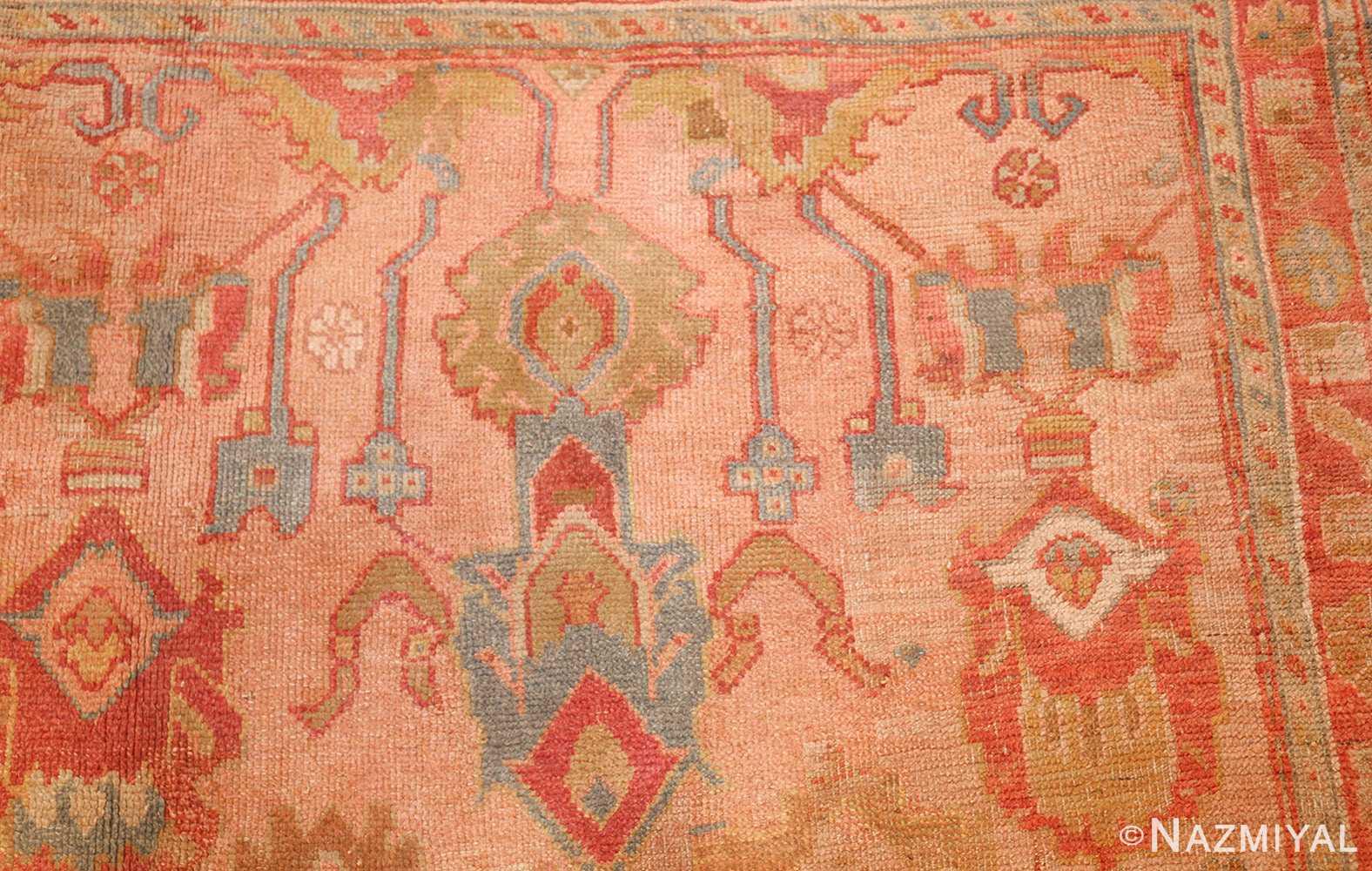 large antique turkish oushak rug 47427 design Nazmiyal