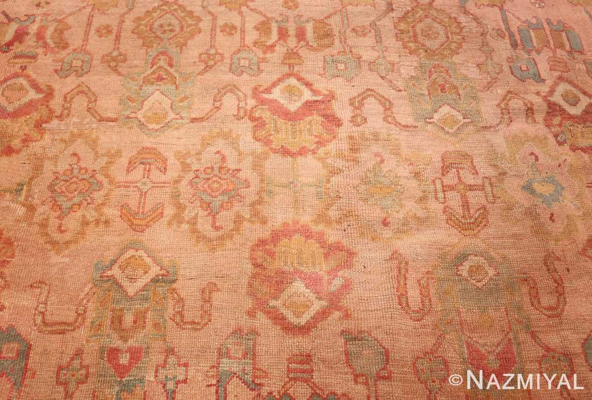 large antique turkish oushak rug 47427 middle Nazmiyal