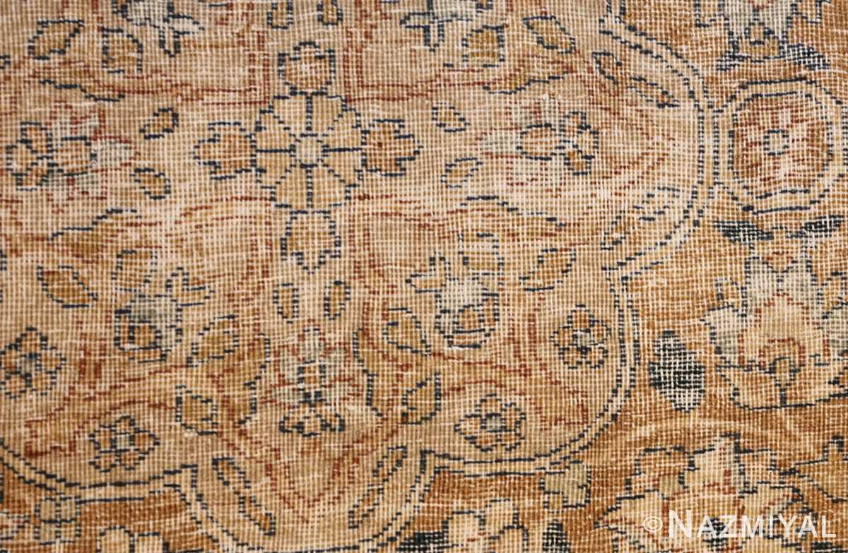 large oversize ivory background persian antique kerman rug 47527 weave Nazmiyal
