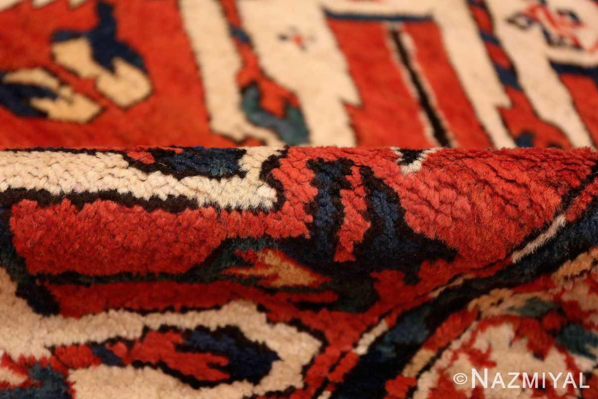 Pile Antique Eagle Kazak rug 47608 by Nazmiyal