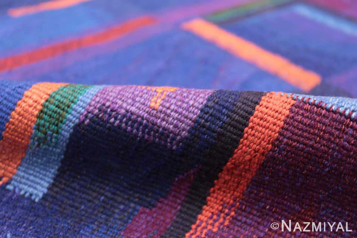 Pile Vintage Norwegian tapestry rug designed by Eevahenna Aalto 47673 by Nazmiyal